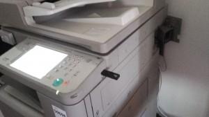 Megtámadott nyomtató